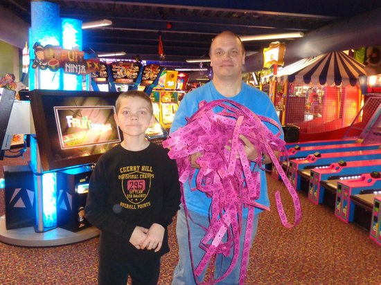 Kalahari Resorts & Conventions: The Arcade was a blast! A great variety of games to play!