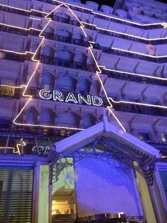 The Grand Brighton: chritmas theme