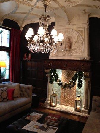 Hotel Prinsenhof Bruges : Decorated for Christmas