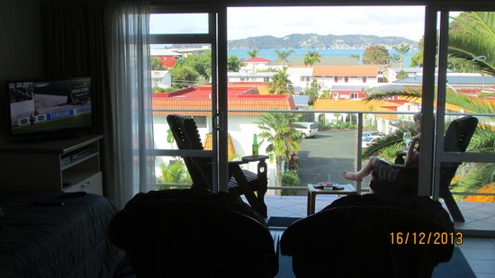 Admiral's View Lodge & Motel : View over Paihia and The Bay