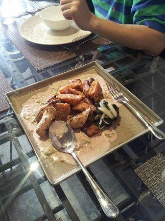 Tiago Progressive Filipino Cuisine : Bicol Express - pork