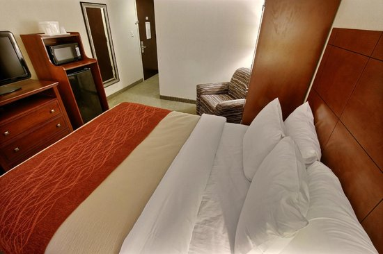 Comfort Inn Staten Island : Traditional Room with One King Size Bed