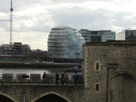 City Hall : Desde The Tower of London