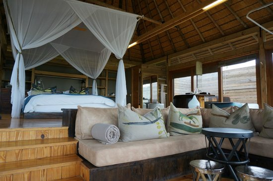 Wilderness Safaris Vumbura Plains Camp: This room is larger than my entire apartment...