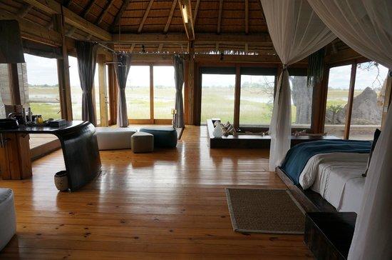 Wilderness Safaris Vumbura Plains Camp: Let's talk about the view...