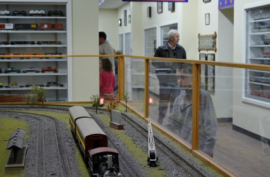 Great Smoky Mountains Railroad: Loved the interactive trains!