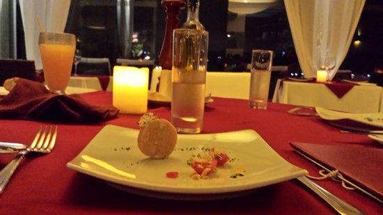 Mistico Sunset Lounge & Restaurant : Simples, mas delicioso