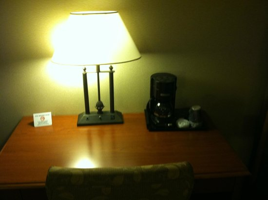 Holiday Inn Midtown / 57th St: Coffee- the flavor is lacking