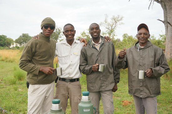 Wilderness Safaris Xigera Camp: The best Polers/Guides