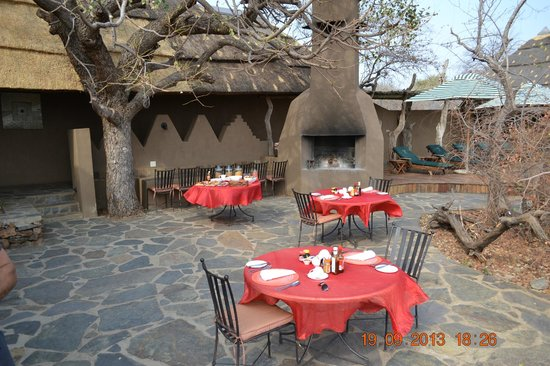 Rhulani Safari Lodge: Breakfast