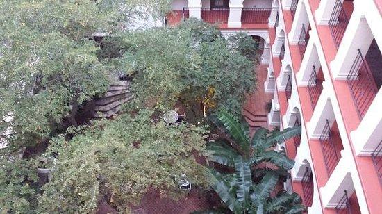 Omni La Mansion del Rio: View from our balcony