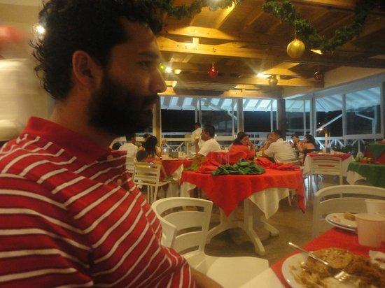 Hotel Blue Cove: El comedor.