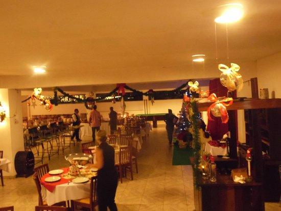 Hotel Vila Verde: noite de natal