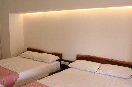 Hotel Cabanas Tulum : our room