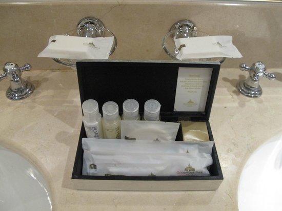 Goodwood Park Hotel : Toiletries again