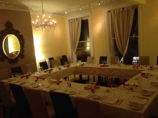 L'Artisan: Private room for Christmas party
