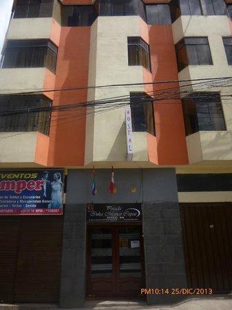 Posada Inka Manco Capac: EDIFICIO DEL HOSTAL