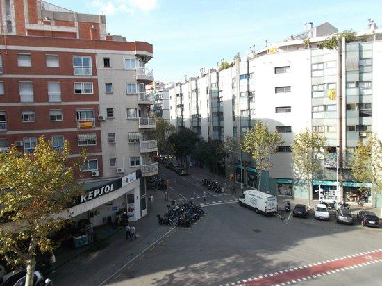 Hostal Central Barcelona : Barcelona, España, Hostal Central. Vista exterior desde habitación.