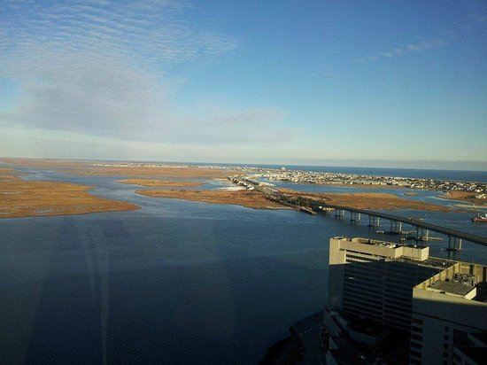 Harrah's Resort Atlantic City: View from the Waterfront Tower