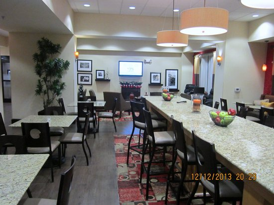 Hampton Inn Greenville: Breakfast area