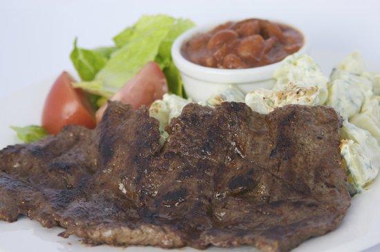 Buena Vista: grilled steak....
