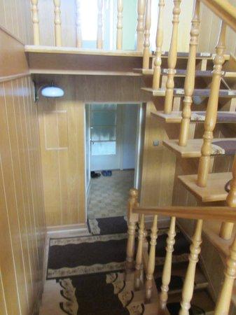 Apart & Hostel Magnolia : Лестница