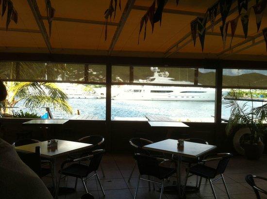 A nice December Afternoon at Sint Maarten Yacht Club Bar & Restaurant