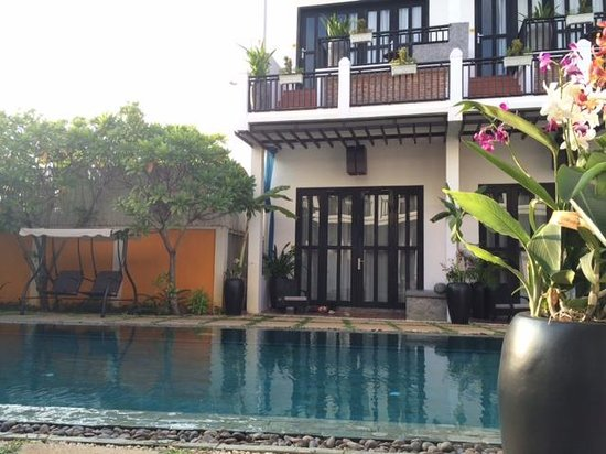 Mulberry Boutique Hotel : The pool
