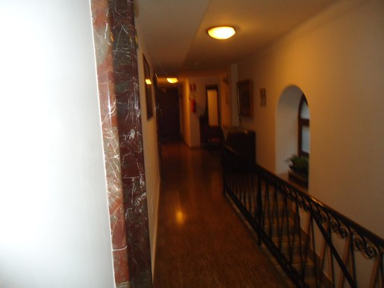 Victoria Hotel: corredor do andar