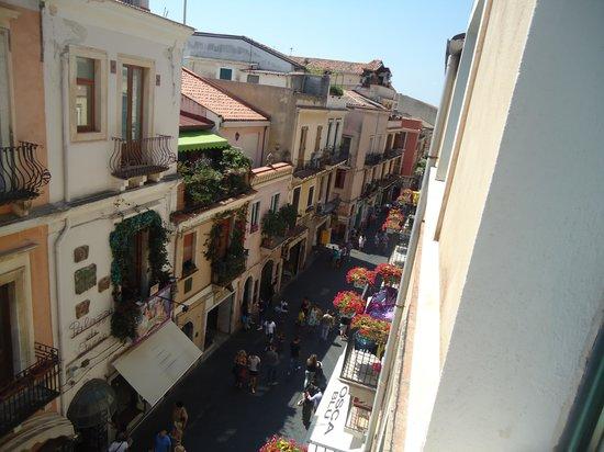 Victoria Hotel: vista da janela do quarto