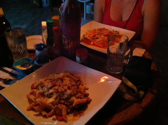 Restaurante Delicias Bahia Drake : Pâtes