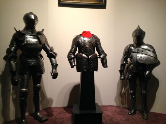 Higgins Armory Museum: Display on the 4th Floor