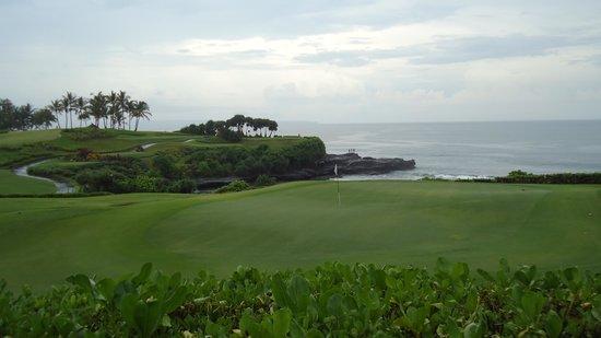 Pan Pacific Nirwana Bali Resort: Golf challenge