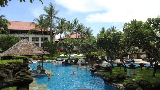 Pan Pacific Nirwana Bali Resort: One Swimming Pool. They have more