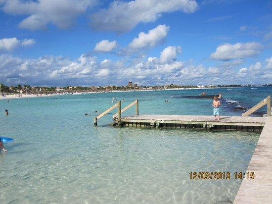Luxury Bahia Principe Akumal Don Pablo Collection: View from beach