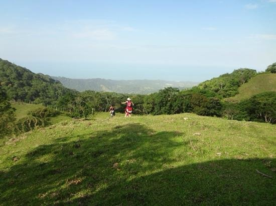San Rafael - Tourist Inn in Tayrona: vista del mar tayrona desde la Sierra (paseo de las cabañas)