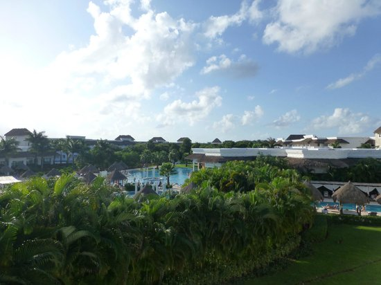 Grand Riviera Princess All Suites Resort & Spa: View from our room
