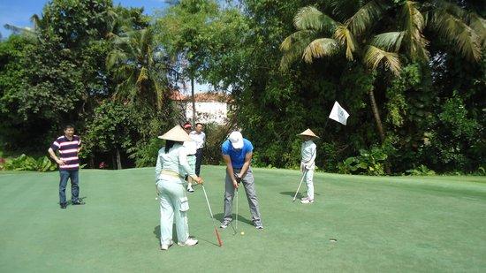 Pan Pacific Nirwana Bali Resort: Golf