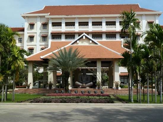 Royal Angkor Resort & Spa: View from the front of the resort