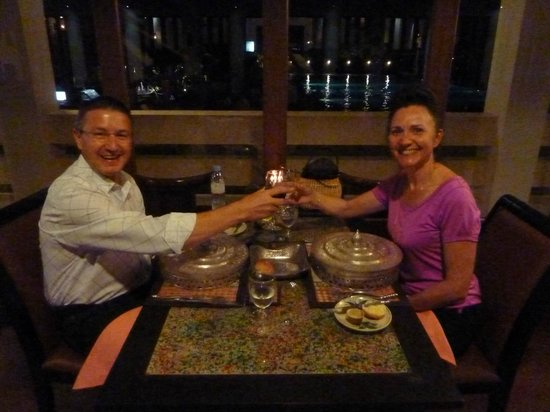 Royal Angkor Resort & Spa: Set Menu for Anniversary Celebration
