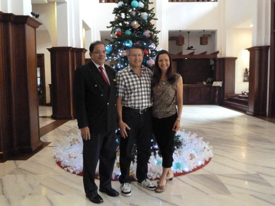 Royal Angkor Resort & Spa: General manager Mr Juliao