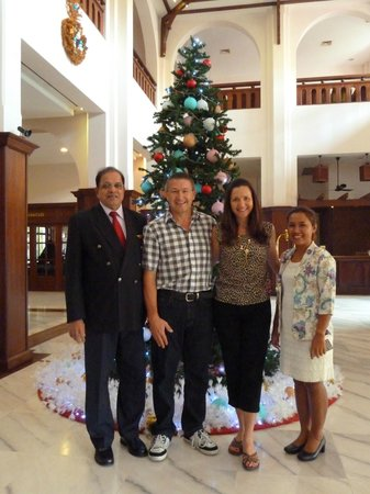 Royal Angkor Resort & Spa: Executive Director Madam Rany & General Manager Mr Juliao