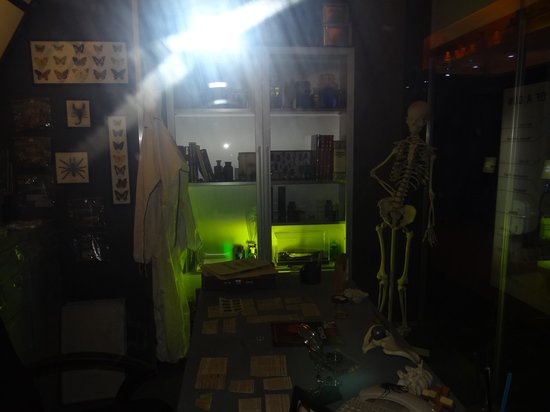 CSI: The Experience : CSI room from the show