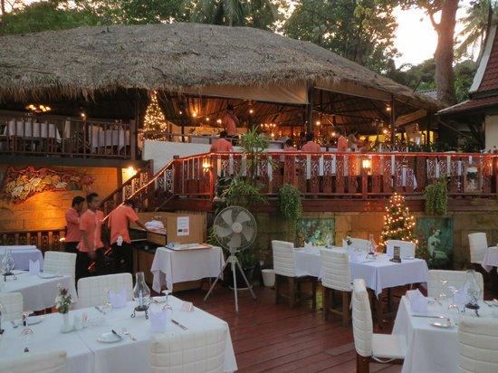 Villa Elisabeth: Terassenrestaurant Bella Vista