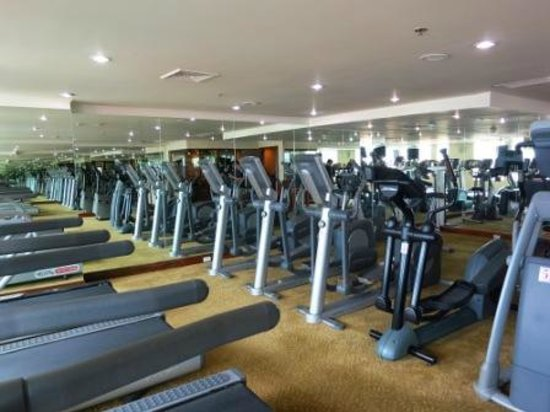 The Emerald Hotel: gym