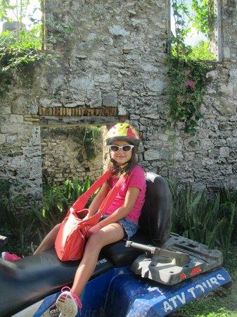 Gecko's Island Adventures: Sugar Mill stop on ATV tour