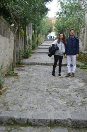 Giardini CaffeCalce: Right outside the B&B