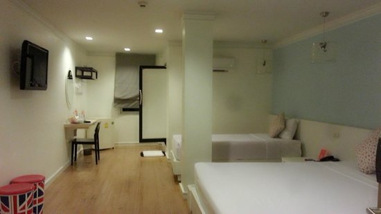 First House Bangkok Triple Room