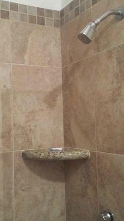 Plazamar: Large shower!