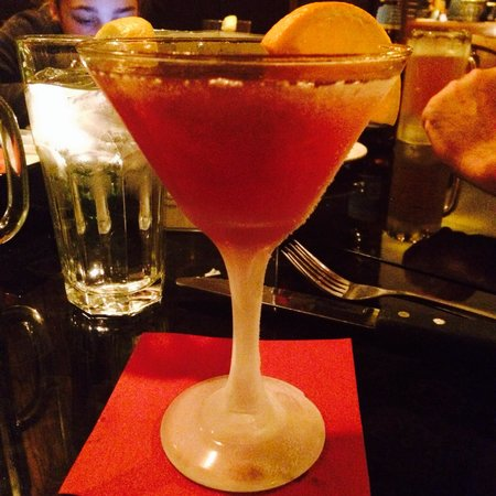 Peddler Steak House: Pomegranate martini